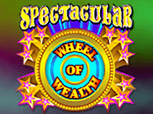 Онлайн автомат Spectacular Wheel Of Wealth в казино